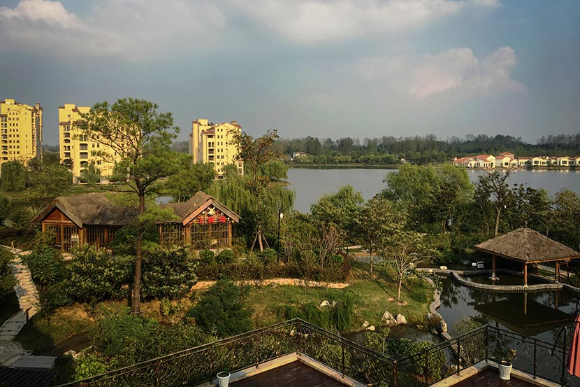 A view of Tianle Lake Resort in Yangzhou, Jiangsu province, Sept. 22, 2016. Fan Yiying/Sixth Tone