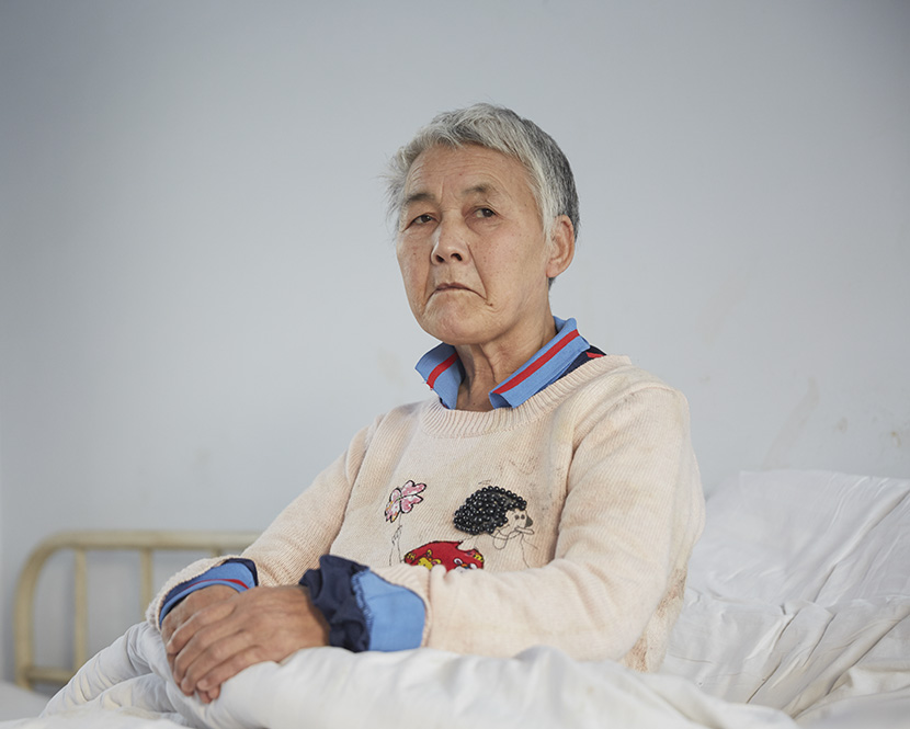 Patient No. 78, female, 73 years old. She got lost and was sent to the hospital on July 22, 2015. After her photo was published in a news story on Jan. 11, 2017, her family recognized her and came to take her home the next day. Chen Ronghui/Sixth Tone
