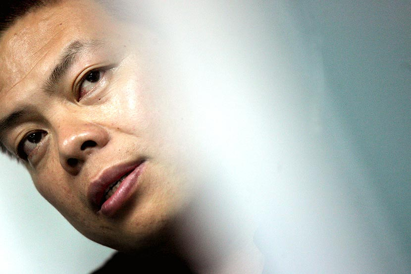 Wu Jingmin is pictured during an interview in Shenzhen, Guangdong province, May 10, 2006. VCG