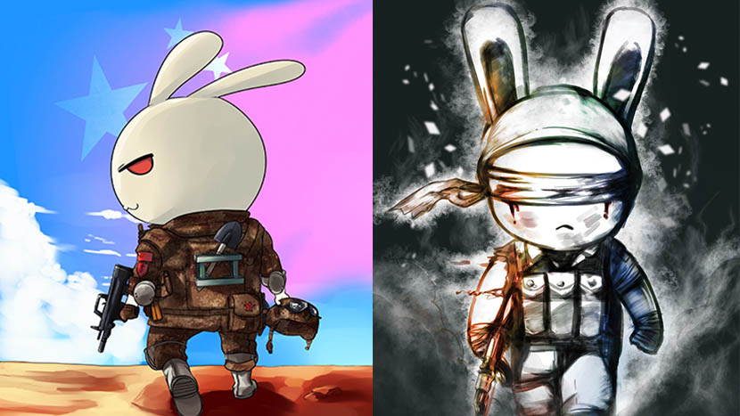 Images of 'That Rabbit.' Courtesy of Xiamen Rising Wind Animation Technology Co., Ltd.