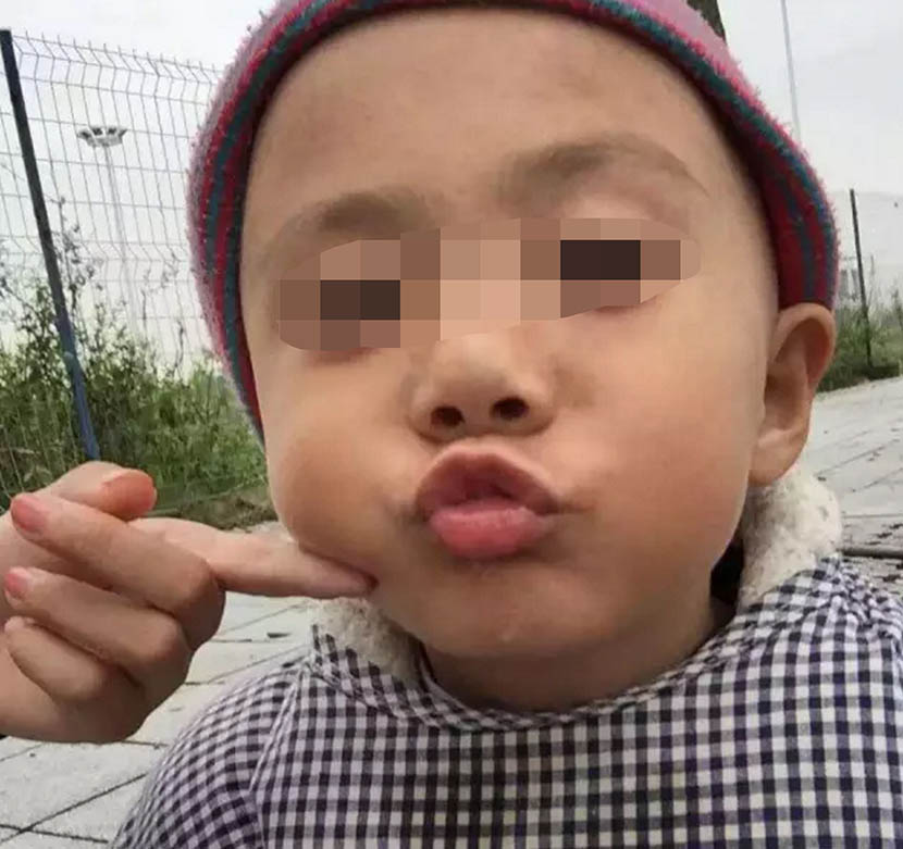 An undated photo of Jia Jia, the 3-year-old autistic boy who died while under care at a treatment facility.