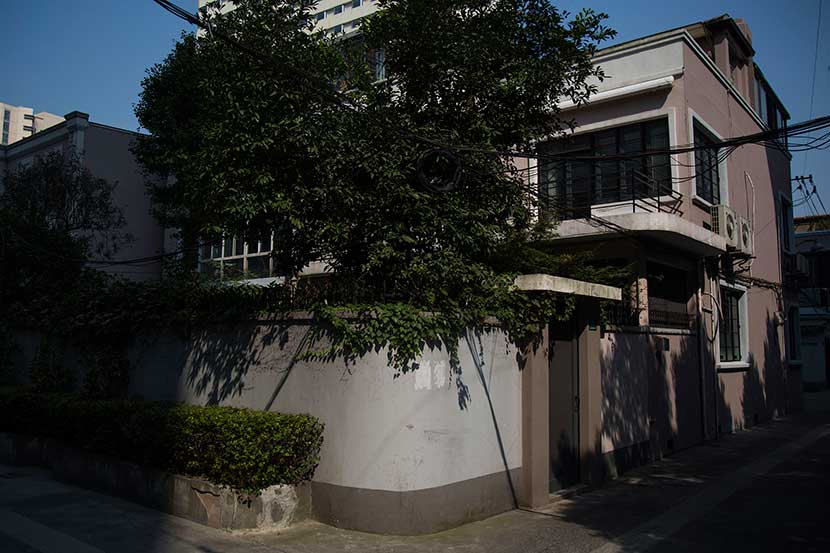 A villa in Shanghai in a spot near the former French Concession where members of the Parsi community once lived, Sept. 2, 2016. Wu Yue/Sixth Tone