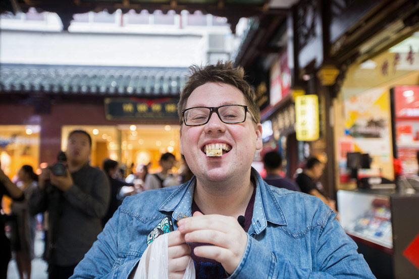 Thomas Derksen poses for a photo in Shanghai, June 22, 2017. VCG