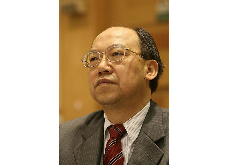 Qiao Tianming, the former chairman of Sichuan-based liquor-maker Jiannanchun, stands trial on charges including the embezzlement of 260 million yuan. VCG