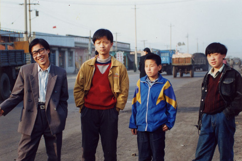 A still from Jia Zhangke's 1997 film 'Xiao Wu,' or 'The Pickpocket.' From Douban