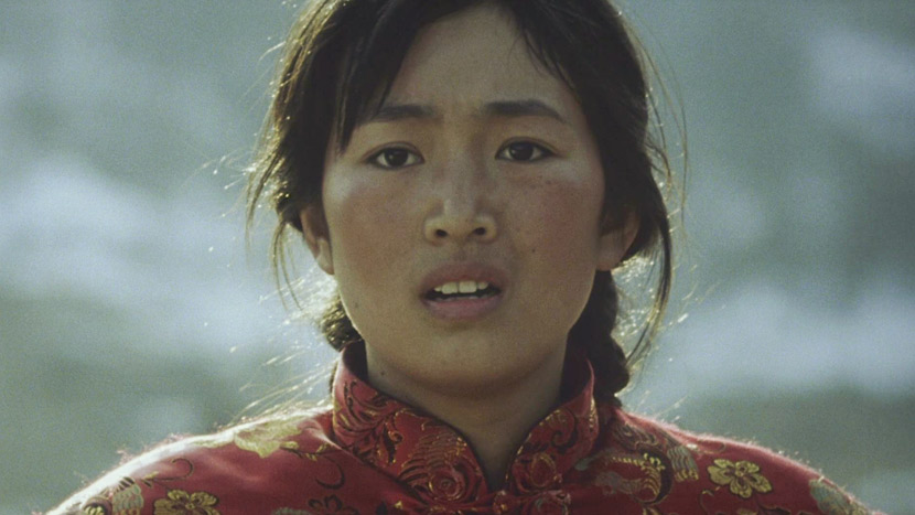 A still from Zhang Yimou's 1992 film 'The Story of Qiu Ju.' From Douban