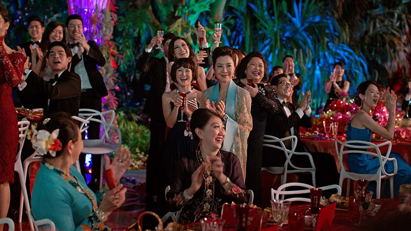 A still from the movie 'Crazy Rich Asians.' VCG