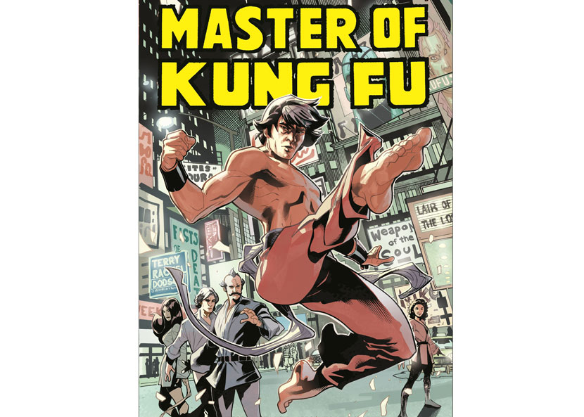 A promotional image from the comic book 'Shang-Chi: Master of Kung Fu Omnibus Vol. 1,' 2016. From Marvel's website