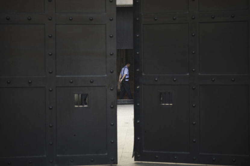 The outside of a prison in Shanghai, July 8, 2013. Zhou Pinglang for Sixth Tone