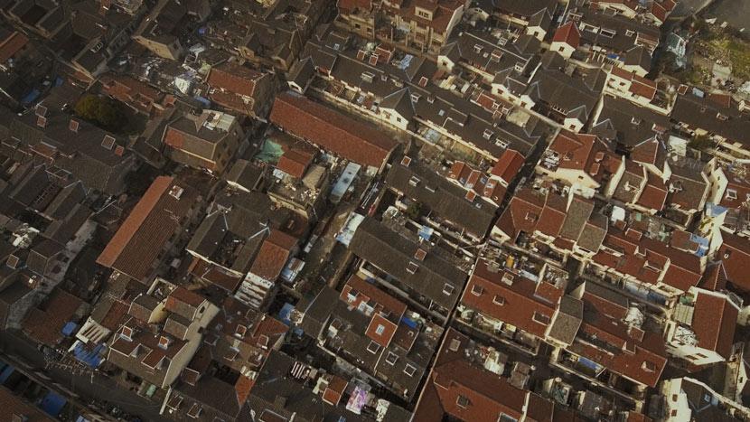 An aerial view of Laoximen 4c1722a2a