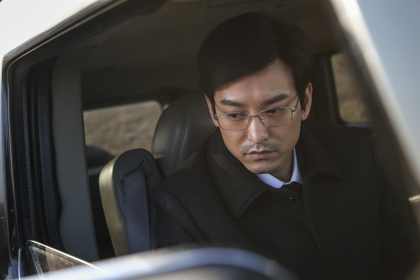 "A still frame of Yuan Wenkang's portrayal of the feckless lawyer Xu Wenjie, from the 2017 film ""Wrath of Silence."" IC"