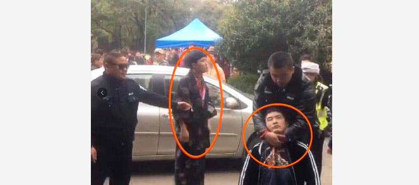 """【中国】""""和服""""の花見客に暴行 武漢大学、対応に非難"""