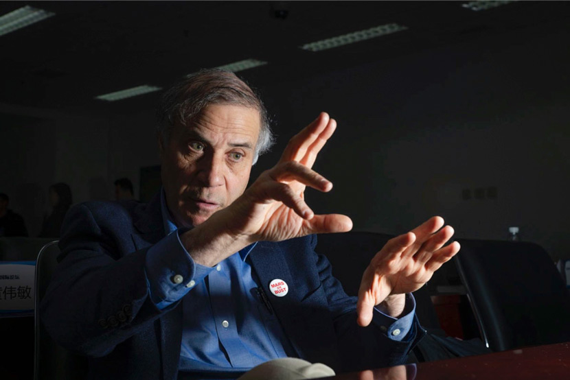 Robert Zubrin at the Beijing Planetarium, Beijing, March 30, 2019. Matjaz Tancic for Sixth Tone