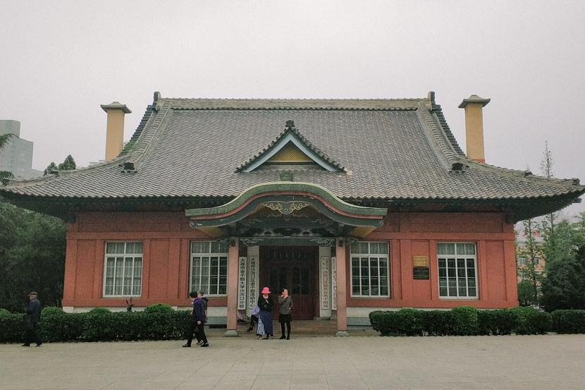 Shōtoku Hall, Dalian, Liaoning province, May 15, 2018. Courtesy of Ma Te
