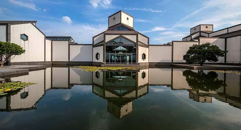 The Suzhou Museum in Suzhou, Jiangsu province. VCG