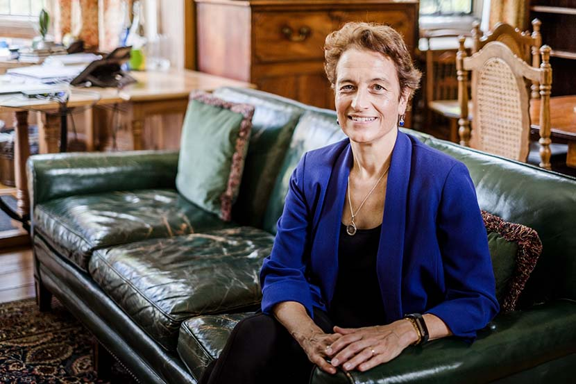 Elizabeth Kiss, warden of Rhodes House at the University of Oxford, poses for a photo. Courtesy of the Rhodes Trust