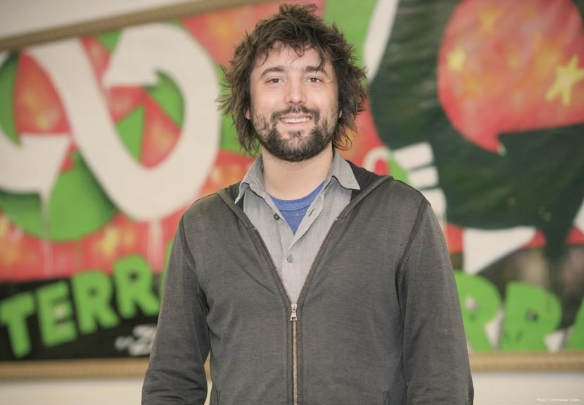Tom Szaky poses for a photo at the general headquarters of TerraCycle in Trenton, New Jersey, U.S., Feb. 10, 2015. Courtesy of TerraCycle