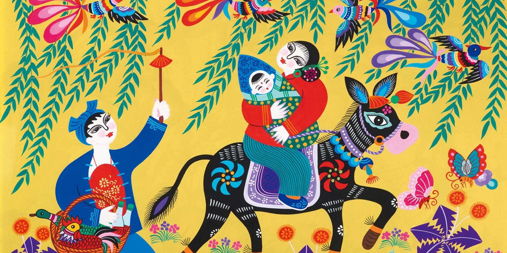 How Peasant Paintings Capture a Changing China