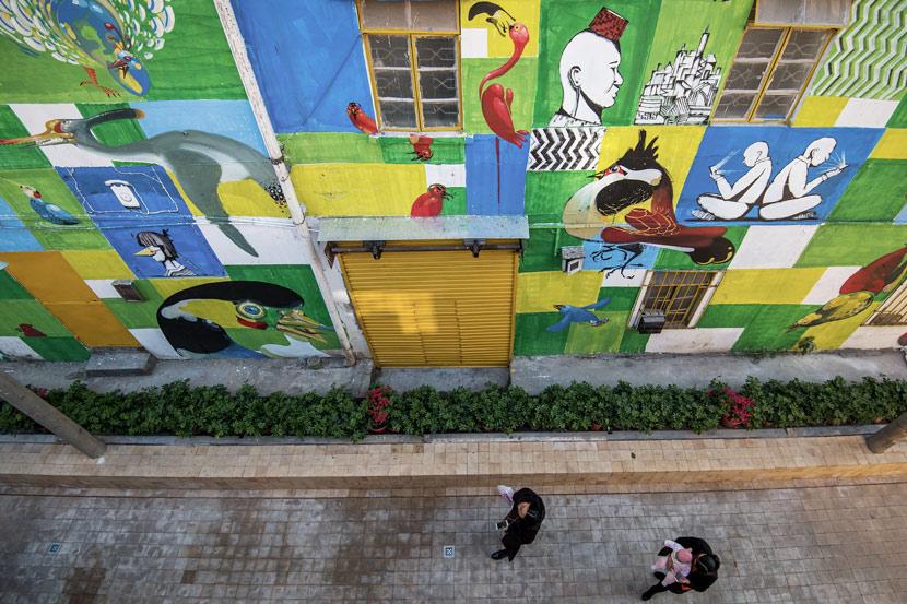 Street art in Nantou Old Town, Shenzhen, Guangdong province, Dec. 19, 2017. VCG