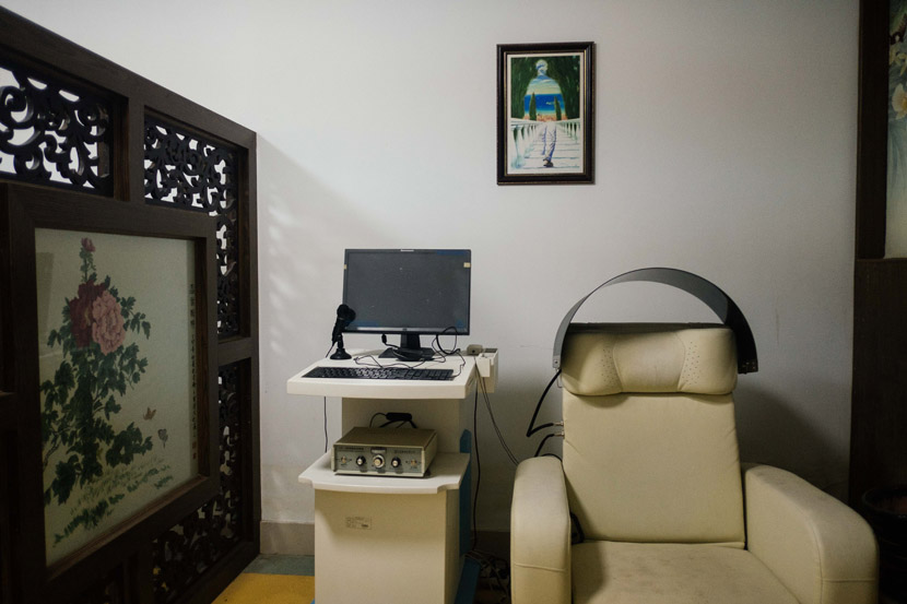 The psychological therapy room inside Nanhui Prison in Shanghai, Sept. 5, 2019. Wu Huiyuan/Sixth Tone