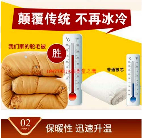 "A ""quantum-embedded"" blanket that supposedly improves sleep, relieves pain, raises immunity, and restores energy, priced at $200 by a vendor in Beihai, Guangxi Zhuang Autonomous Region. From Taobao"