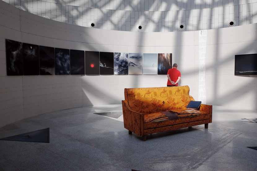 Tang Xiaosong's exhibition at the China Port Museum in Ningbo, Zhejiang province, Oct. 16, 2019. Ding Yining/Sixth Tone