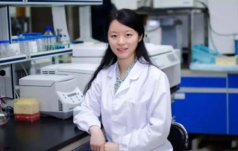 A photo of Wang Yanyi, director-general of the Wuhan Institute of Virology. From @中华诗文学习 on Weibo