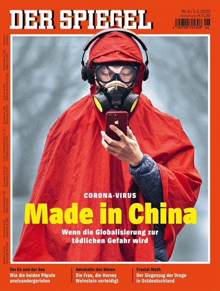A cover of Der Spiegel. From the magazine's website