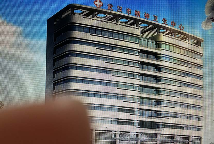 A photo of the official website of Wuhan Mental Health Center. Sixth Tone