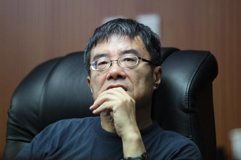 Zhou Guoping during a lecture in Ningbo, Zhejiang province, May 19, 2012. Jia Dongliu/People Visual