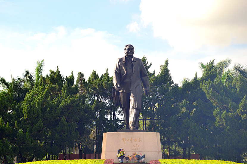 A statue of Deng Xiaoping at Lotus Mountain in Shenzhen, Guangdong province, June 2020. People Visual
