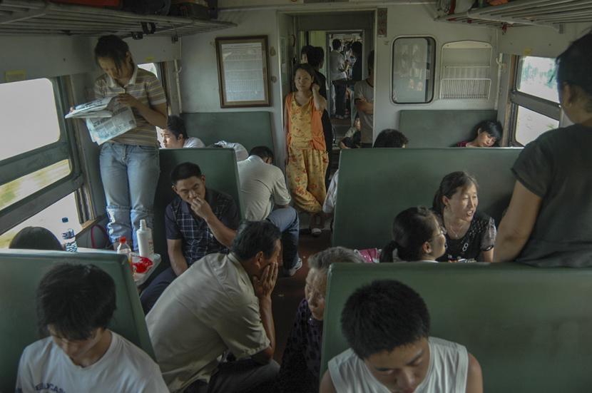 Train 1470 from Xuzhou, Jiangsu province to Harbin, Heilongjiang province, July 21, 2008. Courtesy of Qian Haifeng
