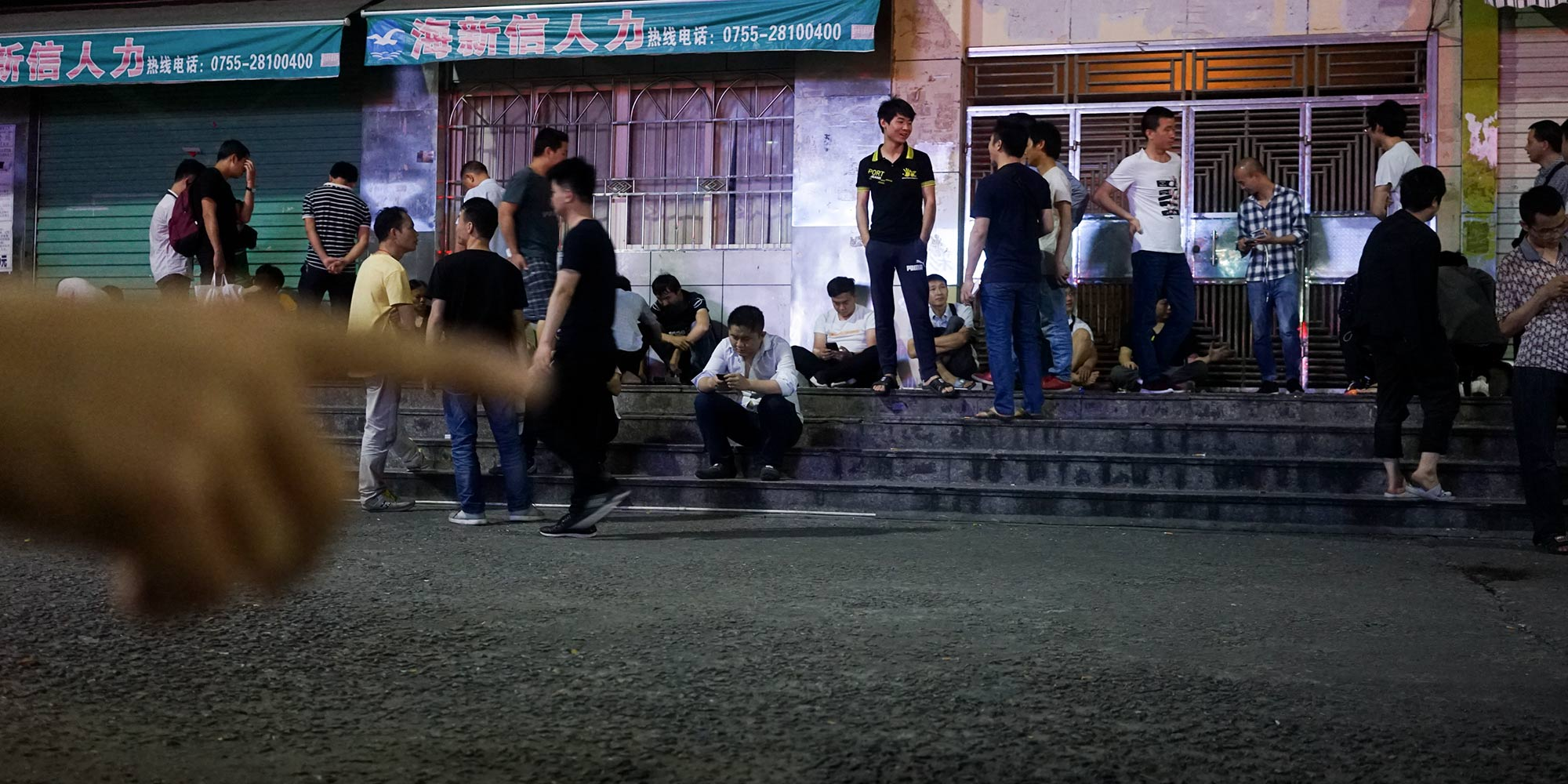 'Sit, Eat, Wait for Death': Life in the Shenzhen Sticks