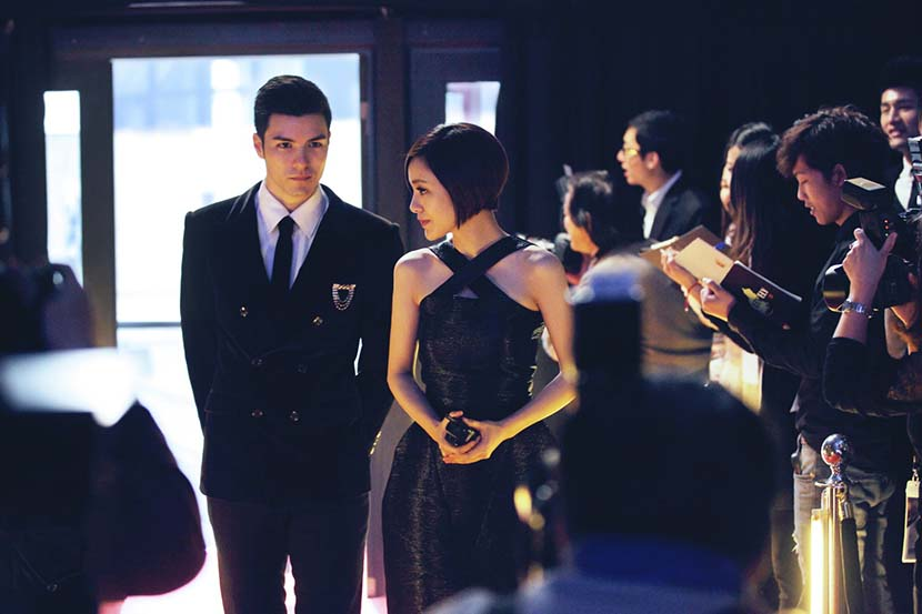 "A still from the movie ""Tiny Times"" which depicts life in the high fashion world of Shanghai. From Douban"