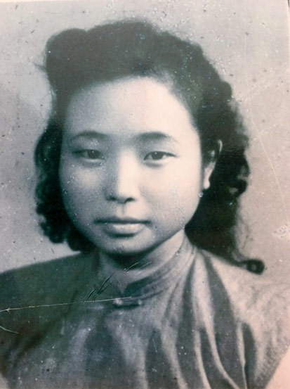 A profile photo of Jiang Zhujun, 1940s. CNS