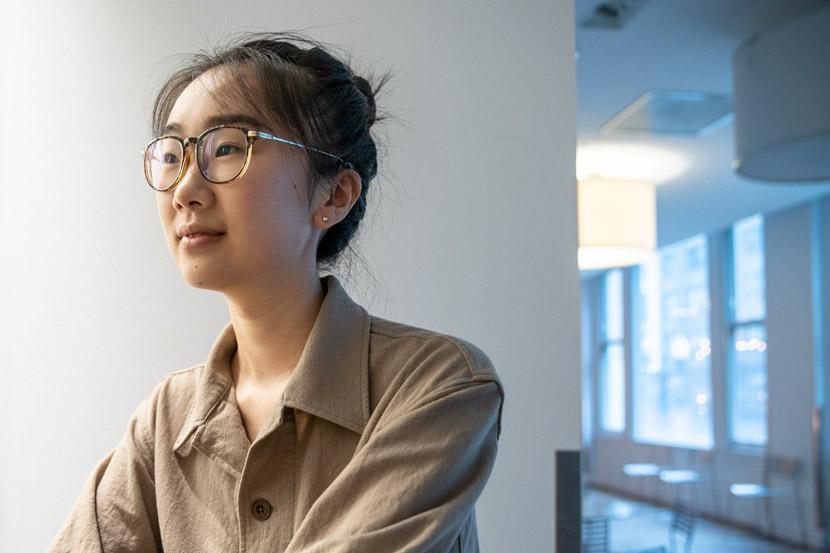 """A profile photo of Shi Jiayan, creator of """"Finding Yingying."""" Courtesy of Shi Jiayan"""