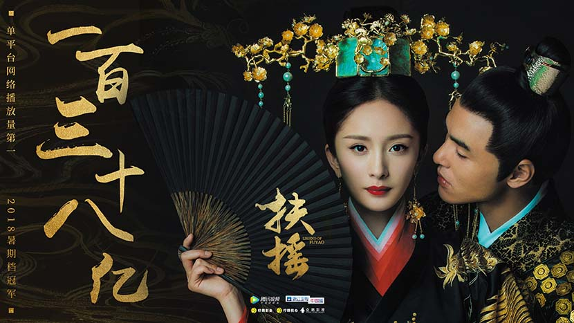 "A promotional poster for the TV drama ""Legend of Fuyao."" From Douban"
