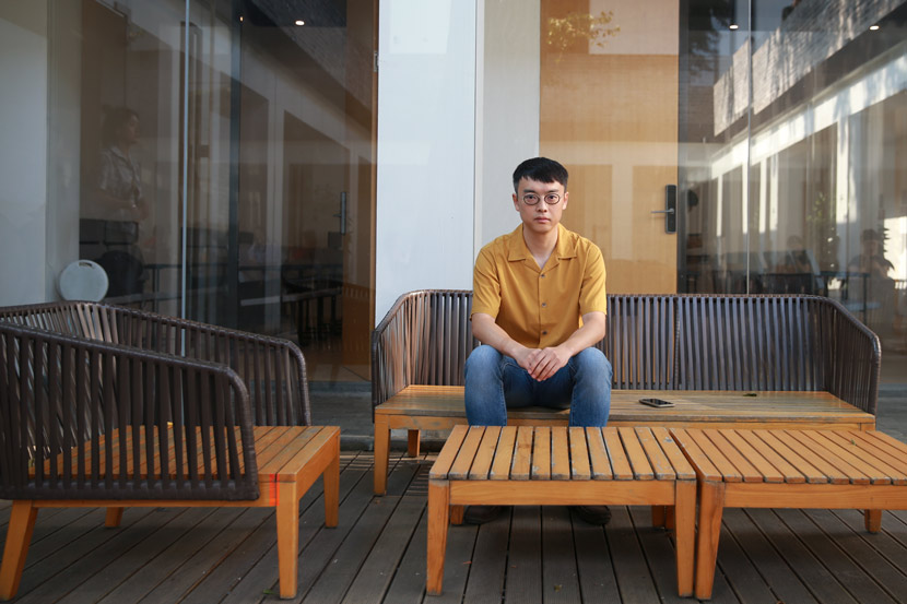 Writer Liu Zichao poses for a photo, 2020. Courtesy of Liu Zichao