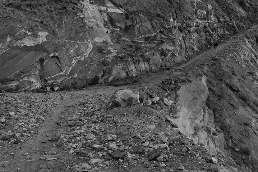 A road in northern Pakistan. Courtesy of Zhang Jingdu