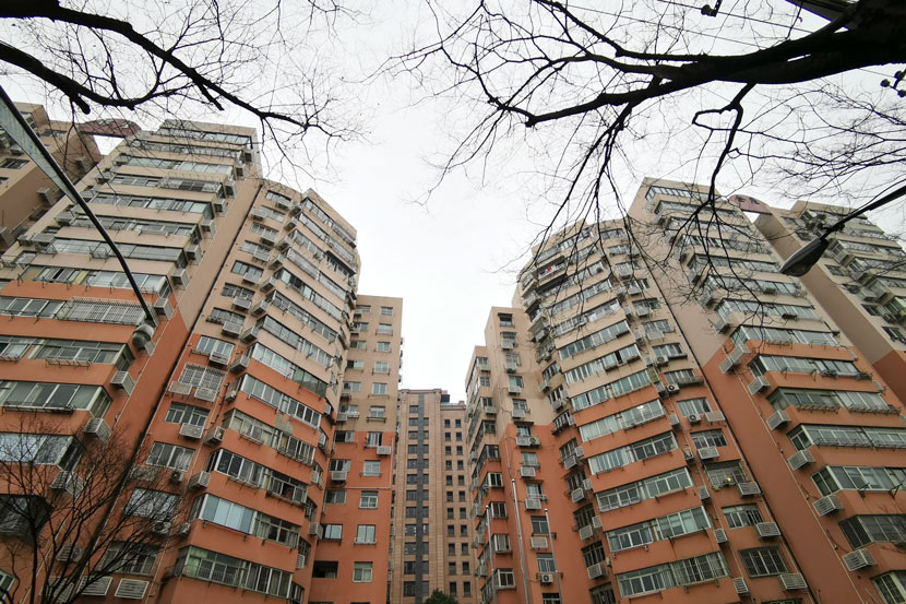 A view of a residential community in Shanghai, Jan. 22, 2021. IC