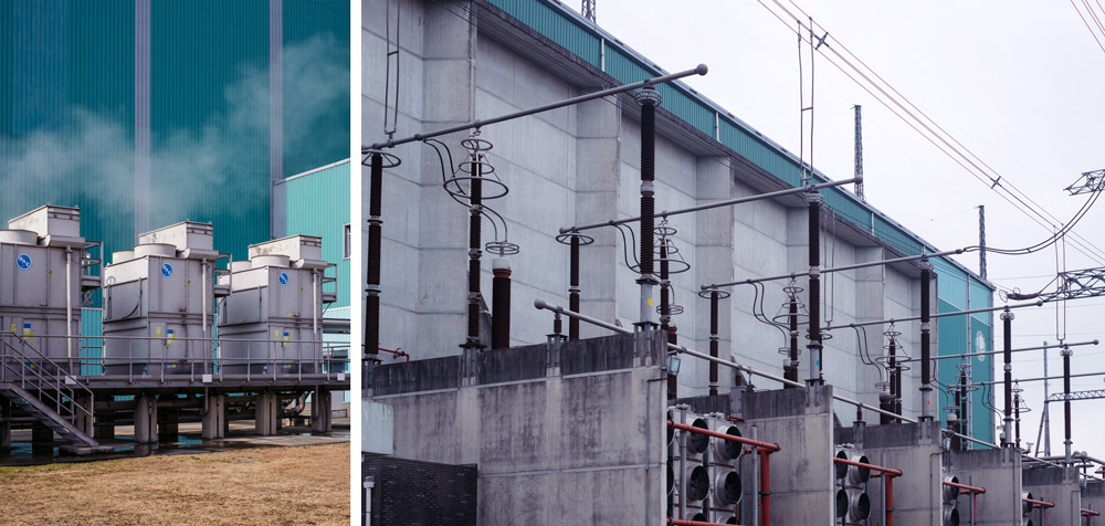 Facilities in Shanghai Fengxian Converter Station, Jan. 21, 2021. Wu Huiyuan/Sixth Tone