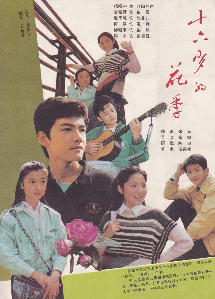 "A poster for ""The Flowering Season of 16."" From Douban"