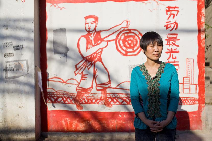 Fan Yusu poses for a photo in Beijing, April 25, 2017. Wang Pan/IC