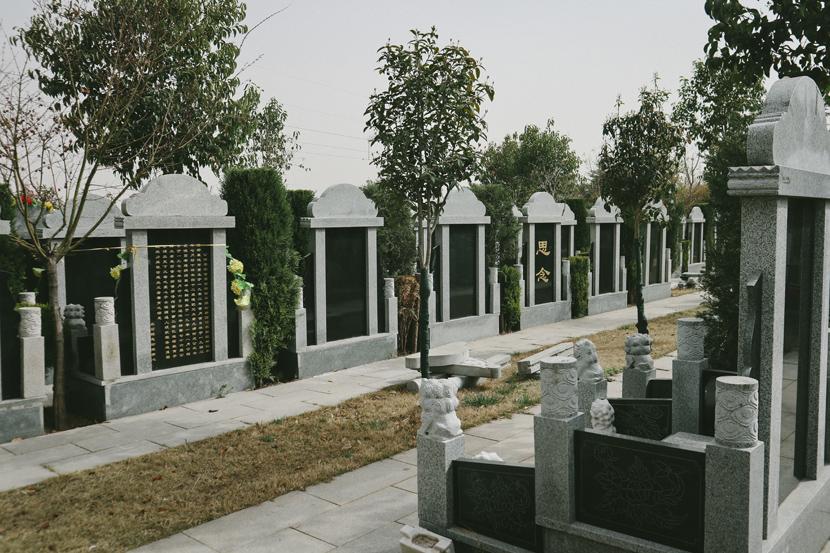 A view of Luoyang Crane Memorial Cemetery, Henan province, March 2021. Yuan Ye/Sixth Tone