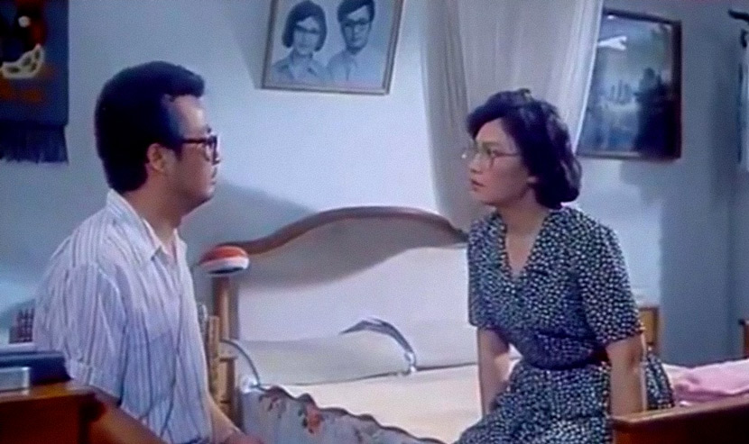 """A still from the 1989 film """"Men's Private Savings."""" From Douban"""