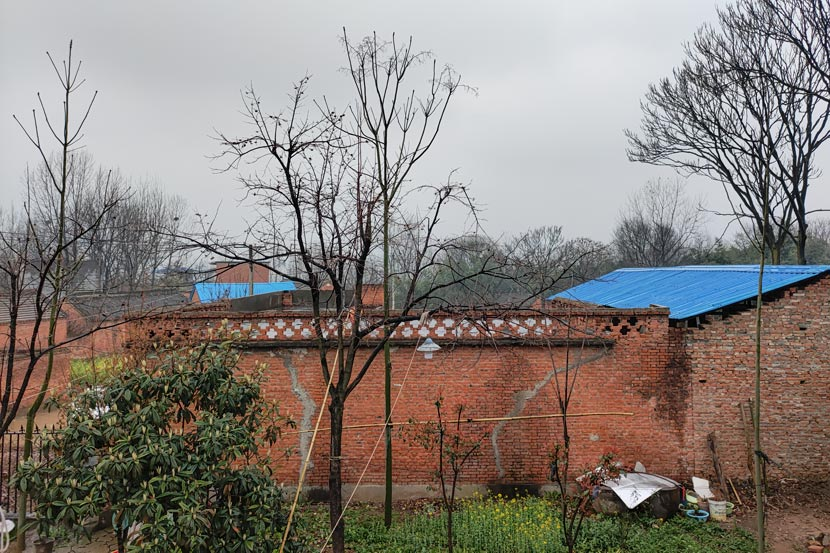Hegang Village, where the husband's house is located, Henan province, March 2021. Zhou Hang for Sixth Tone