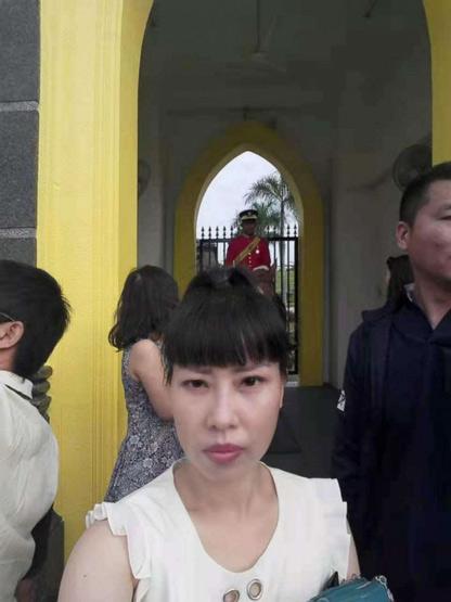 A selfie of Feng Daoyou. Courtesy of Wei Xiaohan