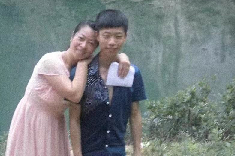Li Ronghui and Chen Sihan before the events of the case unfolded. Courtesy of Li Ronghui