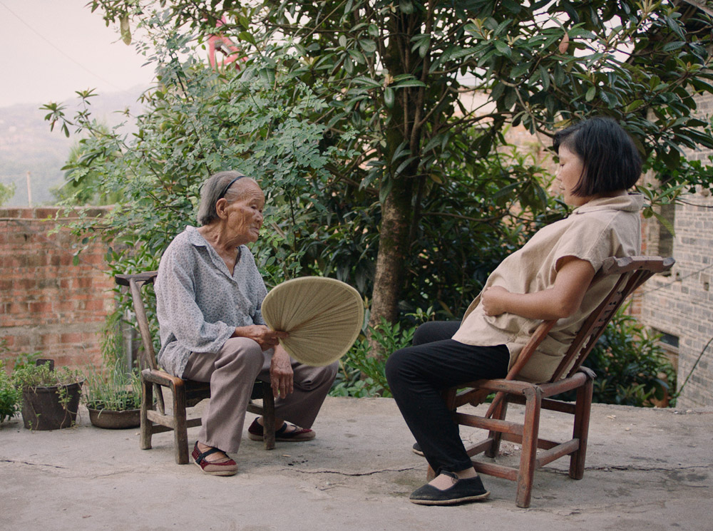 """A still from """"Mama"""" featuring Li Dongmei's real-life grandmother. Courtesy of Li Dongmei"""