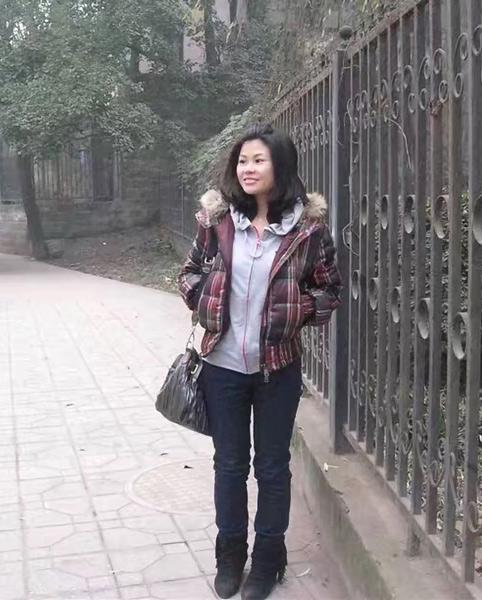 Li Dongmei during her college years. Courtesy of Li Dongmei